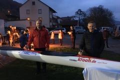 Andreas Knoll Fa. Schöpper & Knoll und Klemens Müller Fa. Kroati.de